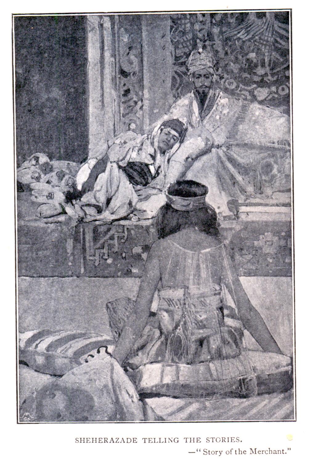 Illustration by Frank Brangwyn
