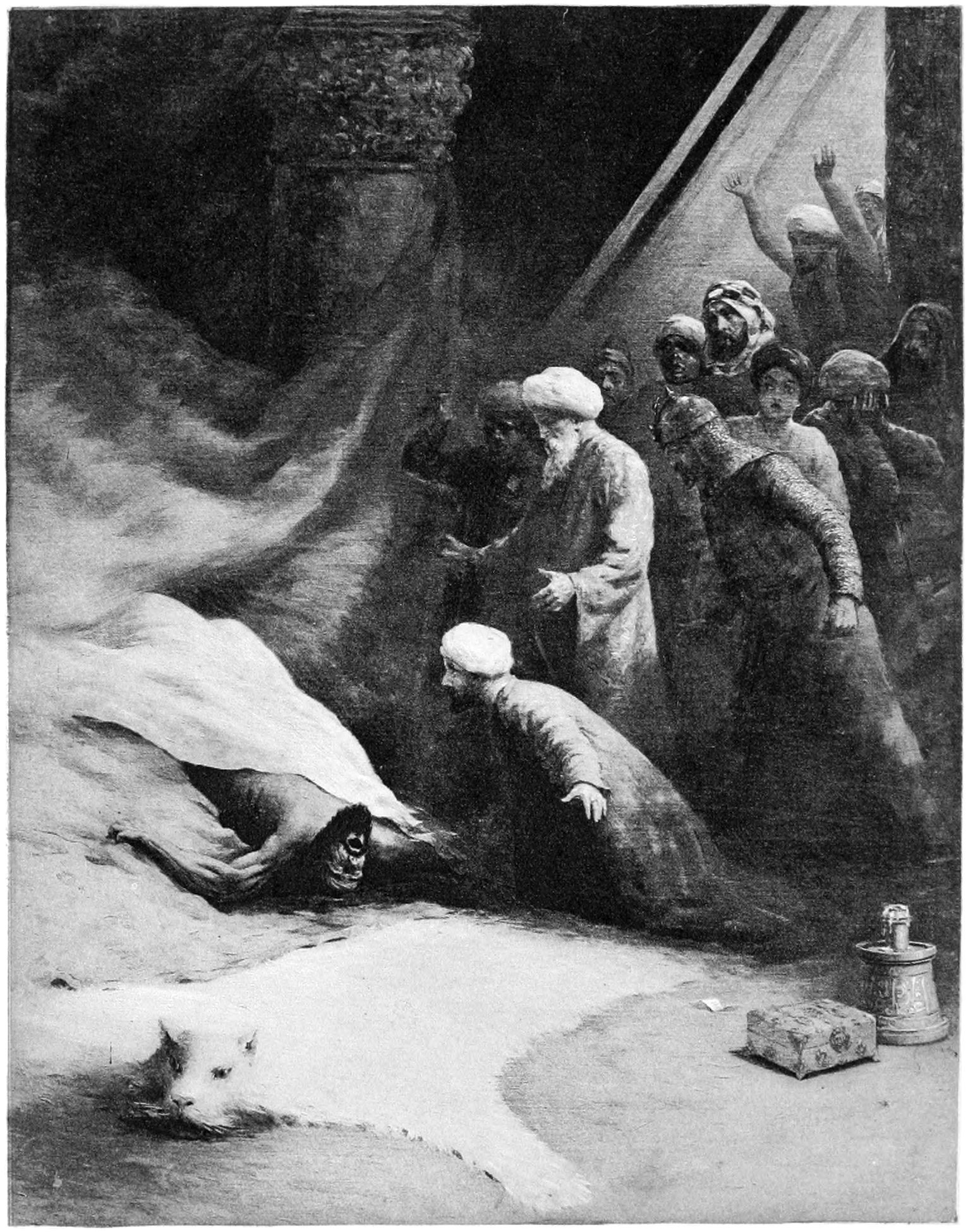 Tale of King Omar bin al-Nu'uman and his Sons
