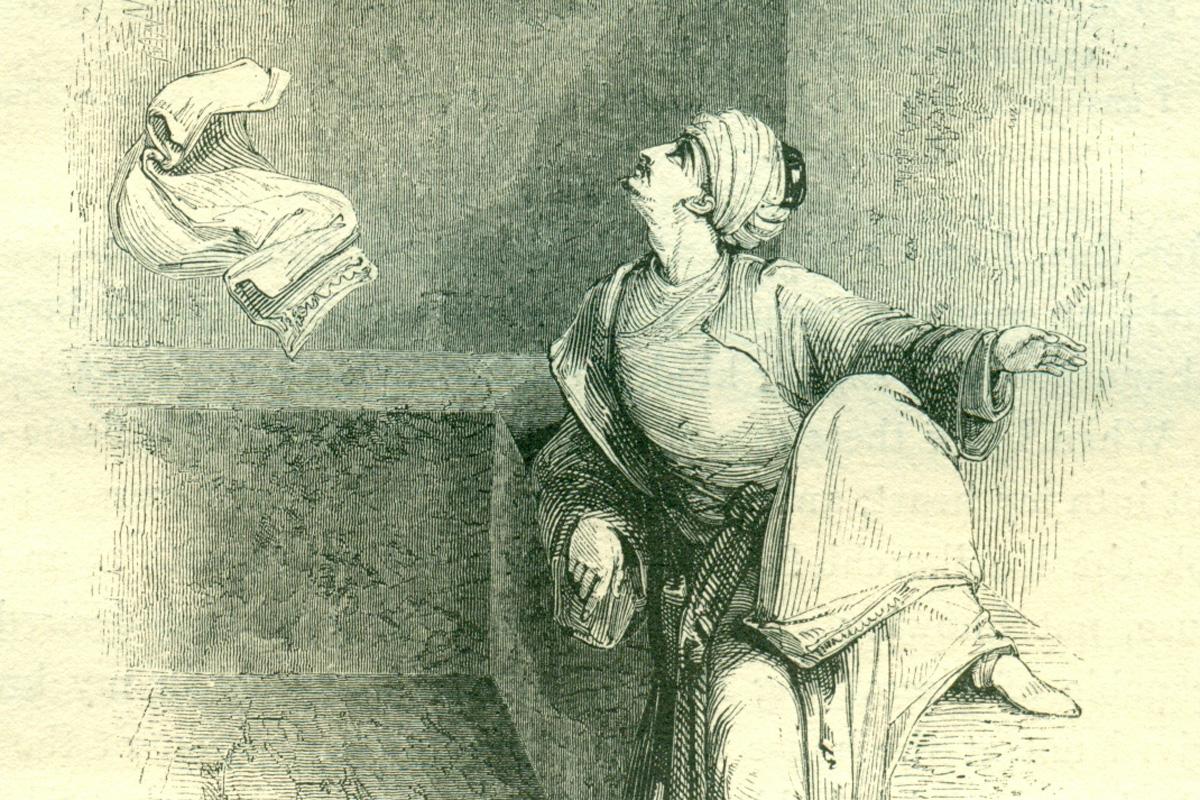 Aziz - Illustration by William Harvey