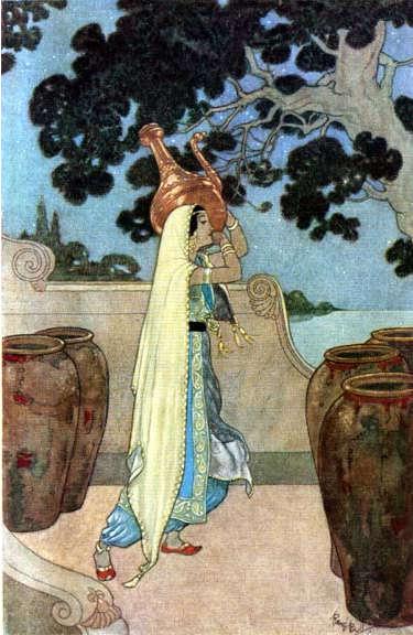 Marjana - Illustration by Rene Bull