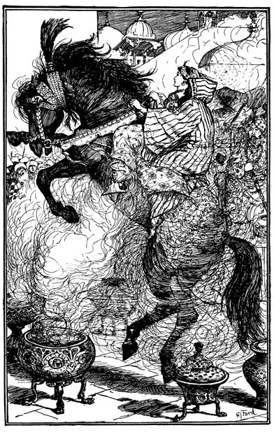 The Ebony Horse by HJ Ford