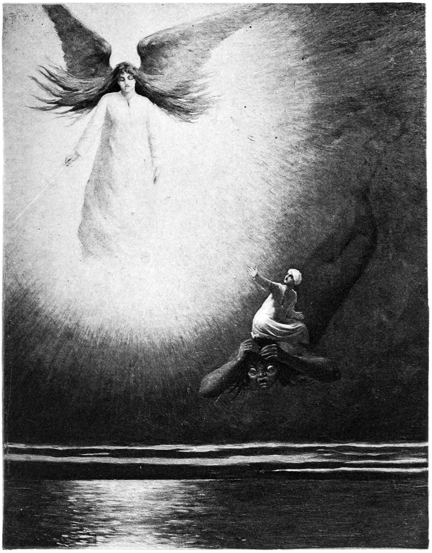 Abu Muhammed the Slaggard - Illustration by Albert Letchford