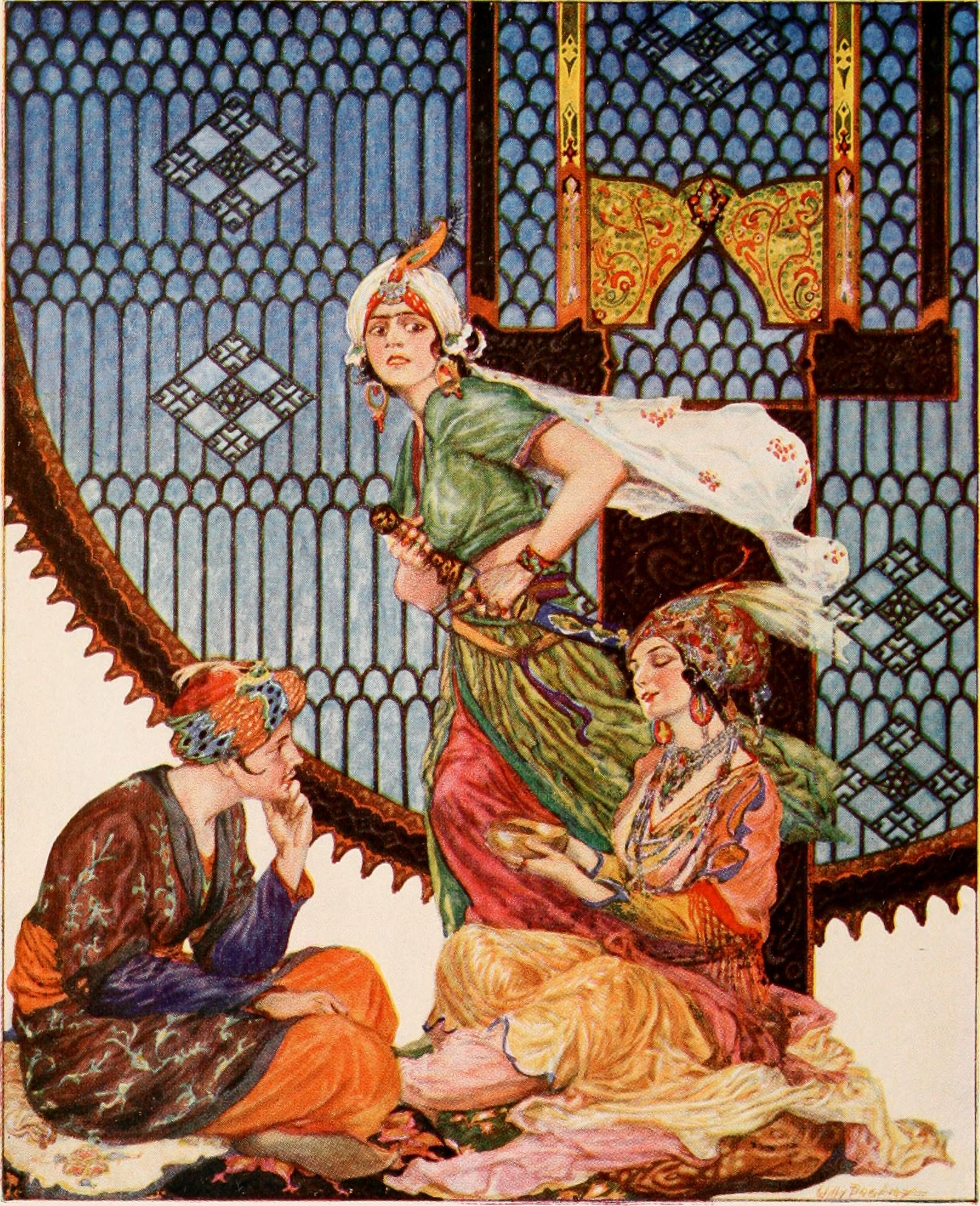Illustration by Willy Pogany
